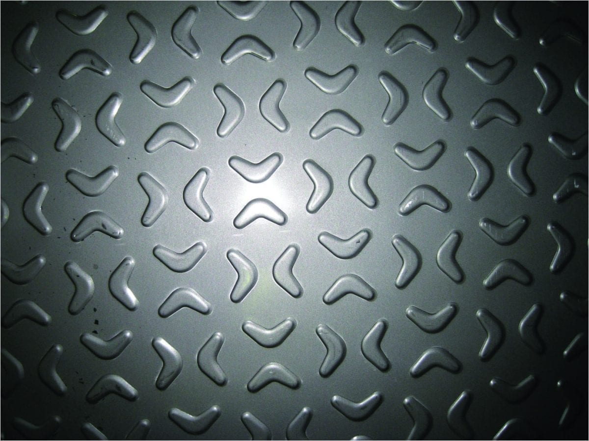 Butterfly Stainless Steel Tread Plate