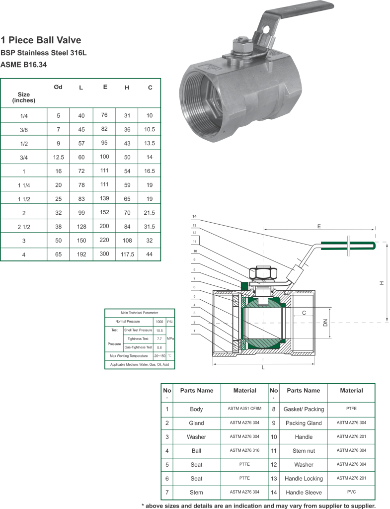 valves-785x1024 Stainless Steel Valves One Piece Ball